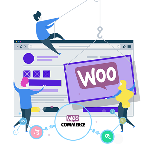 What can you sell using a WordPress website optimized with WooCommerce plugin?